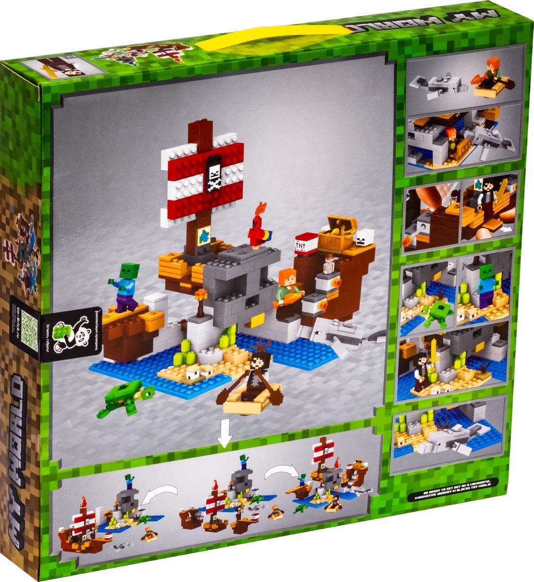 Конструктор Bela 11170 Приключения на пиратском корабле, аналог Lego 21152